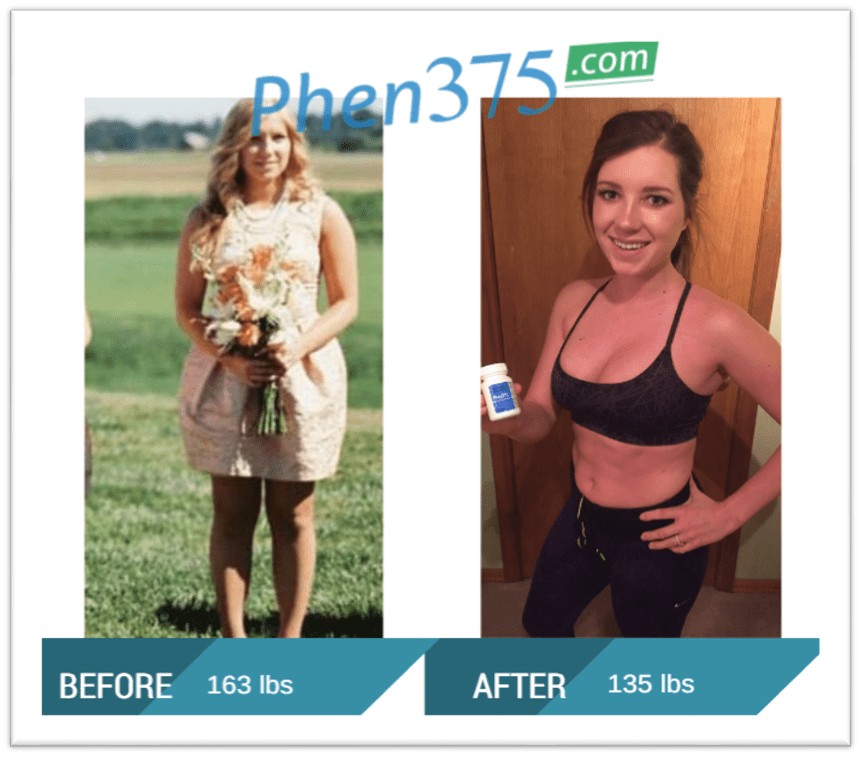 Phen375 before and after weight loss results